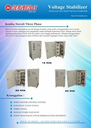 Stavolt Kenika Motor 3 Phase 20 KVA