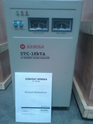 Stavolt Kenika Motor 1 Phase 10 KVA