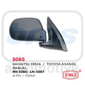 harga Spion Emgi Daihatsu Xenia / Toyota Avanza 2004 - 2012 Hitam Manual RH Tokopedia.com