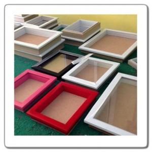 Bingkai Scrapbook 3D 40 x 40 x 3cm
