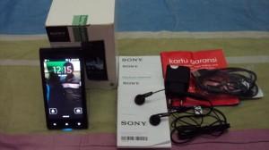 Sony Xperia J ST26i Hitam