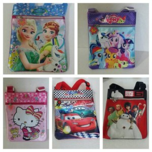 harga Tas selempang import frozen/my little pony/cars/bighero 6/hello kitty Tokopedia.com