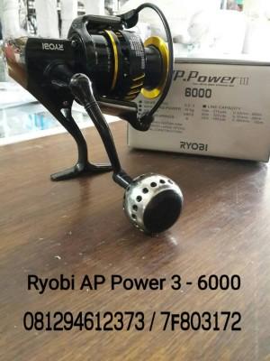 Reel Ryobi AP Power 3 - 6000