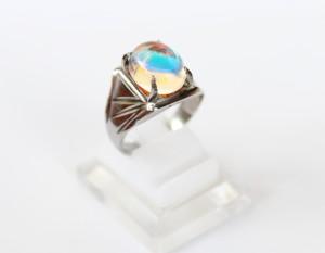 Cincin Batu Kalimaya Banten - Cincin Kalimaya Ekspor - Monel Silver