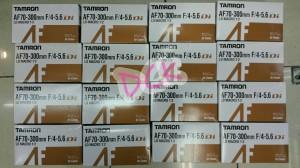 LENSA TAMRON 70-300 FOR CANON F/4-5.6 [BISA MACRO]