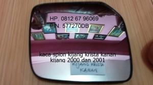 kaca spion toyota kijang krista, kijang 2000 dan 2001 original kanan