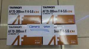 LENSA TAMRON 70-300 FOR CANON/NIKON + FILTER UV KENKO
