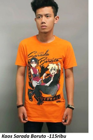 Kaos Sarada Boruto Naruto New