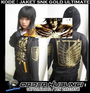 Jaket SNK Gold Exclusive