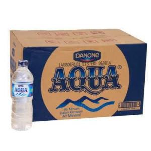 Aqua Botol 600ml (order tokopedia khusus gojek)