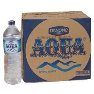 Aqua Botol 1500ml (order tokopedia khusus gojek)
