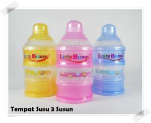 Lusty Bunny Tempat Susu Bayi 3 Susun