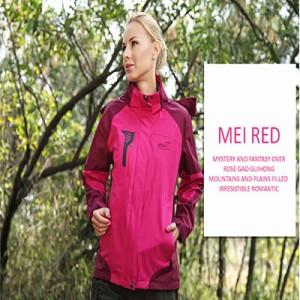 Jaket Gunung/Hiking/Outdoor Wanita SNTA 6602 Fuschia Waterproof