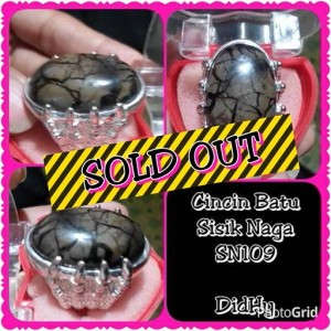 harga SN109 Cincin Batu Sisik Naga Enrekang Tokopedia.com