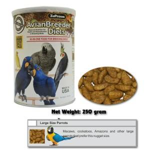 Pakan Ternak Burung : ZuPreem Avian Breeder L 250 g (Macaw,Kakatua dll