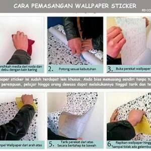 Jual cara pasang wallpaper rejeki merdeka tokopedia - Cara pasang wallpaper ...