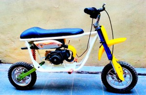 motor mini trail old school 50cc