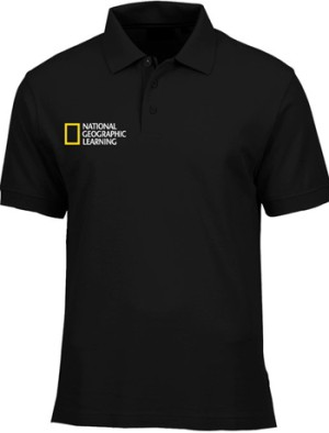 harga Kaos Polo National Geographic Leaning - Hitam Tokopedia.com