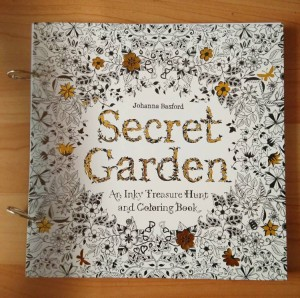 Coloring Book Buku Mewarnai Secret Garden Size Besar