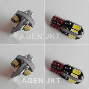 LAMPU LED SENJA T10 CANBUS MOBIL - Putih