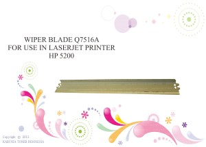 WIPER BLADE  Q7516A FOR USE IN LASERJET PRINTER HP 5200