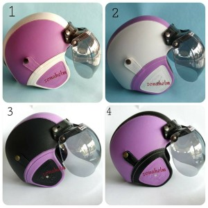 Helm Retro Helm Bogo kulit