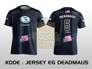 JERSEY / KAOS TEAM GAMING DOTA 2 EG DEADMAU5 EDITION