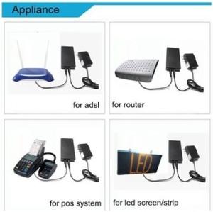 harga Mini UPS 12V/2A - Black / ups Tokopedia.com