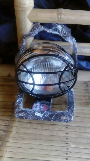 breket lampu pesek all motor sport + headlamp cb 5 inc + gril