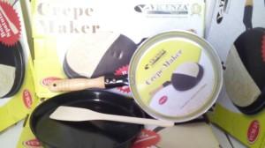 crepe maker vicenza + spatula