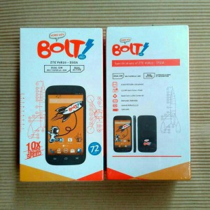 Handphone Bolt Powerphone 4G ZTE V9820 Dual SIM