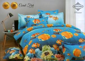Bedcover Kendra Premier 180 motif Coral Fish