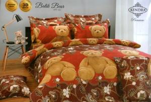 Bedcover Kendra Premier 180 motif Batik Bear