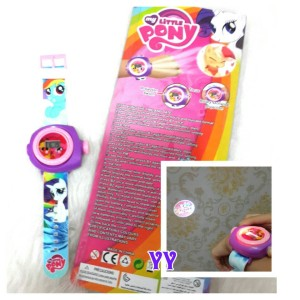 New Jam Tangan Anak Proyektor My Little Pony