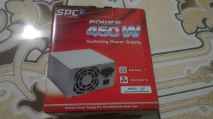 power supply 450 watt spc