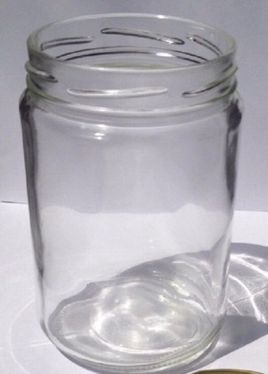 Botol Toples Beling Jar 500ml (kaca) : Bulat & Silinder, TANPA Penutup