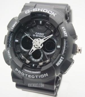 G-Shock GA 120 II Black White