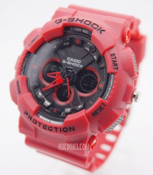 G-Shock GA 120 II Full Red