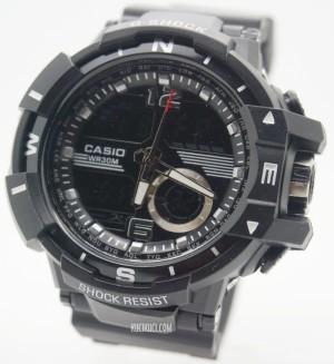 G-Shock Dual Time D6876 Black