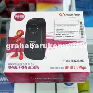 Smartfren AC30W Modem Mifi Portable Hotspot GSM CDMA Free 6GB AC30