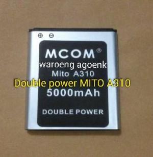 Baterai MCOM For MITO A310 Double Power 5000mAh
