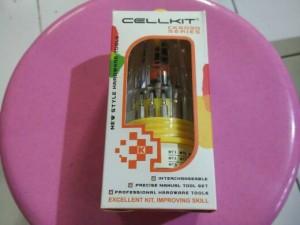 harga Obeng Cellkit 31 in 1 HP Ponsel CK6030 Toolset Tool Set Tools Tokopedia.com