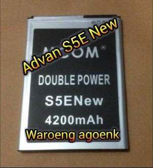 Baterai MCOM Advan S5ENew Double power 4200mAh
