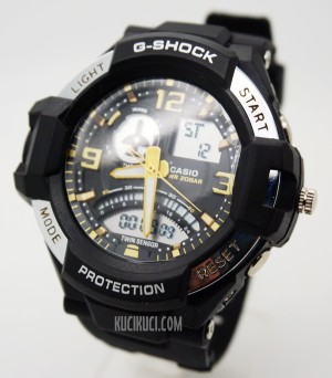 G-Shock GA 1000 Black Gold