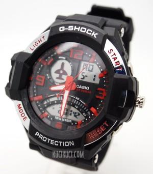G-Shock GA 1000 Black Red
