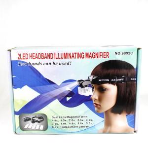 harga Kaca Pembesar Topi 5 Lensa (Light Head Magnifying Glass)/Senter Batu Tokopedia.com