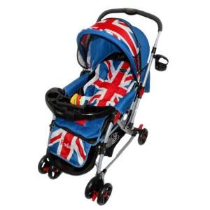 Kereta dorong bayi/stroller Pliko 398 Rodeo motif USA & England