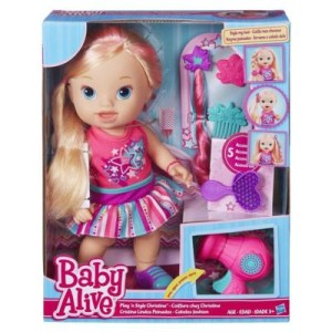 Boneka Baby Alive Play N Style Christina Doll (Blonde)