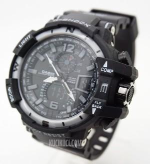 G-Shock GWA 1100 Black Ring Grey