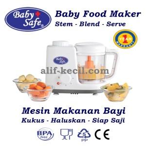 harga Baby Safe Baby food Maker/ Mesin Steam Kukus Blender Makanan Bayi Anak Tokopedia.com